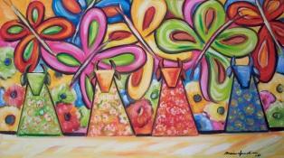 Marina Jardim -óleo sobre tela – 50 x 70 cm