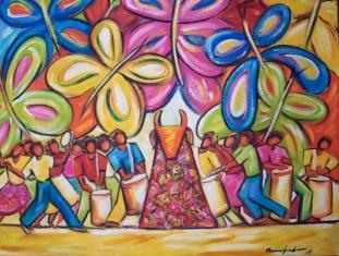Marina Jardim – óleo sobre tela – 60 x 90 cm