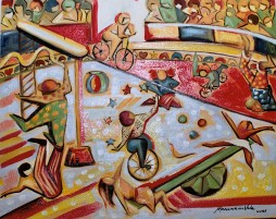 Marina Jardim – óleo sobre tela – 60 x 50 cm