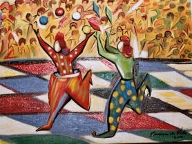 Marina Jardim – óleo sobre tela – 30 x 40 cm