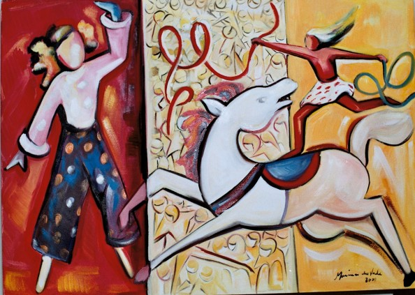 Marina Jardim – óleo sobre tela – 70 x 50 cm