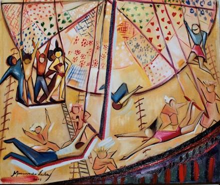 Marina Jardim – óleo sobre tela – 50 x 40 cm