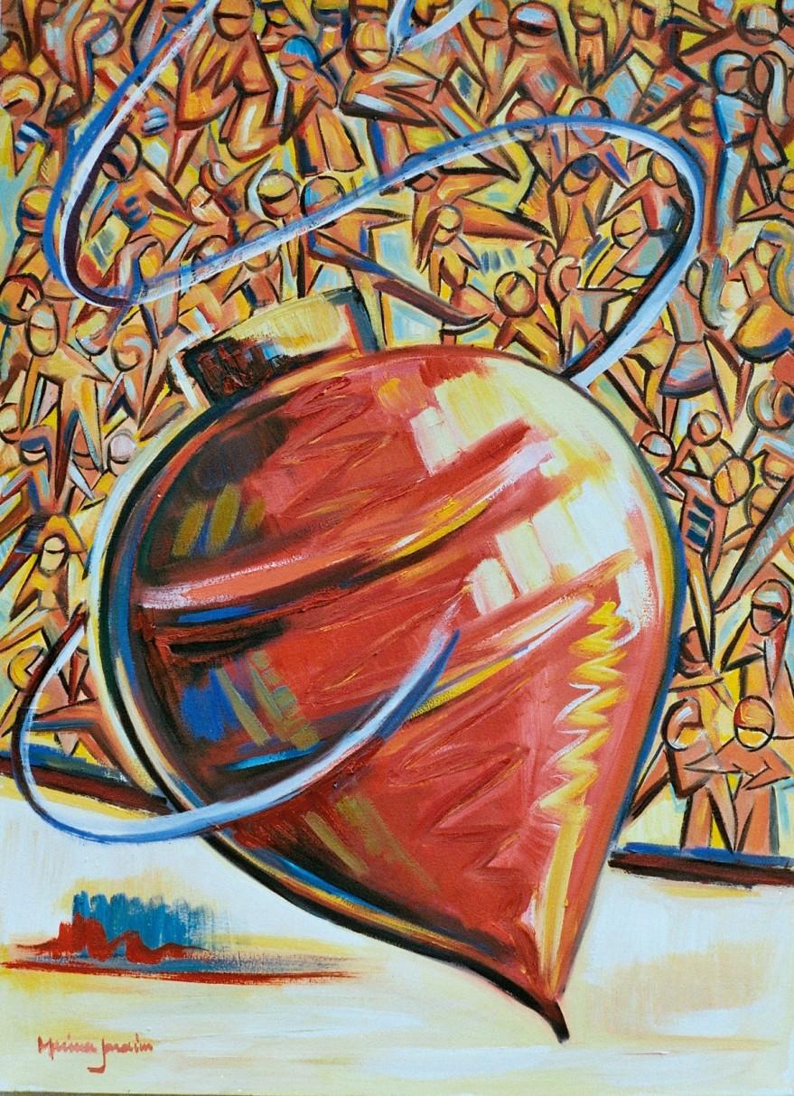 Marina Jardim -óleo sobre tela – 70 x 50 cm