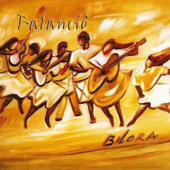 Capa cd Bilora - tela de Marina Jardim