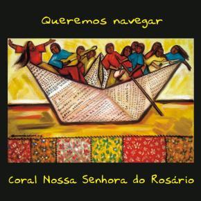 capa do cd do Coral Nossa Senhora do Rosário - tela de Marina Jardim
