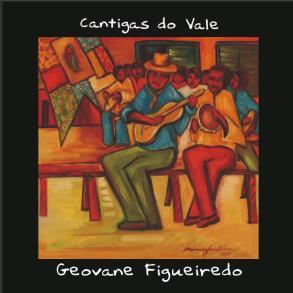 Capa do cd de Geovane Figueredo - tela de Marina Jardim