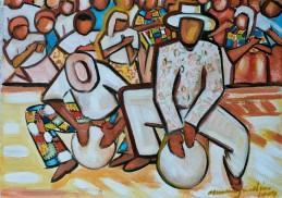 Marina Jardim -óleo sobre tela – 40 x 30 cm