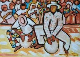 Marina Jardim - óleo sobre tela - 40 x 30 cm