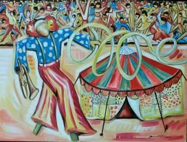 Marina Jardim - óleo sobre tela - 130 x 100 cm